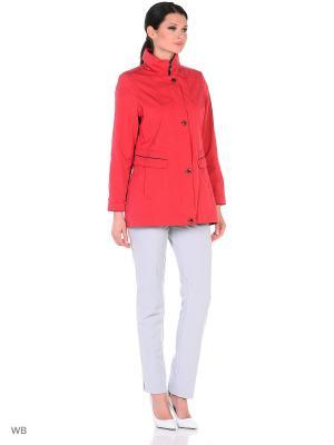 Куртка Maritta. Цвет: малиновый