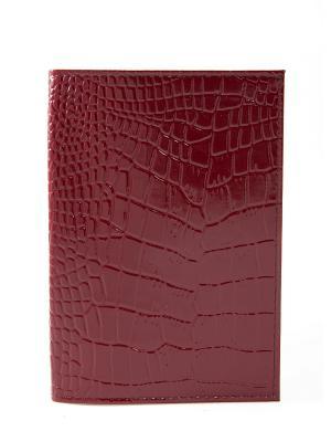 Обложка для паспорта Mitya Veselkov. Цвет: бордовый