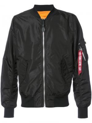 Куртка L-2B SCOUT Alpha Industries. Цвет: чёрный