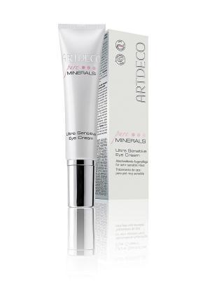 Крем вокруг глаз для очень чувствительной кожиUltra Sensitive Eye Cream, 15мл ARTDECO. Цвет: белый