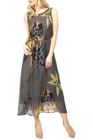 Платье Apanage. Цвет: зеленый