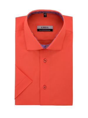 Рубашки GREG. Цвет: оранжевый
