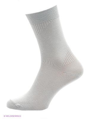 Носки, 2 пары Burlesco. Цвет: темно-серый