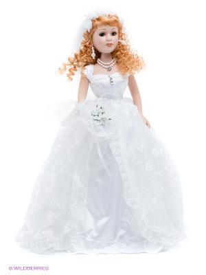 Кукла фарфоровая Долорес Lisa Jane. Цвет: белый, бежевый