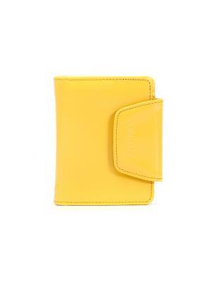 Портмоне VERSADO. Цвет: желтый