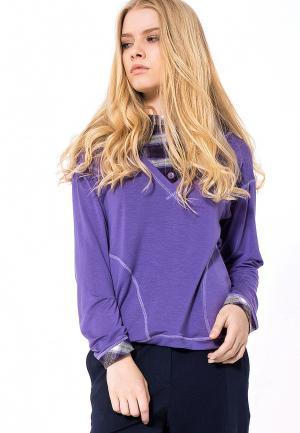 Пуловер LO. Цвет: фиолетовый