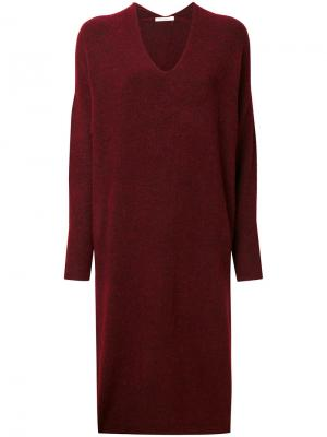 Платье-свитер Mes Demoiselles. Цвет: розовый и фиолетовый