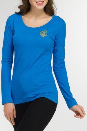 Футболка Rocawear. Цвет: голубой