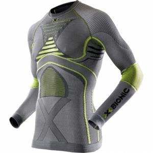 Термо-Кофта X-Bionic. Цвет: iron/yellow
