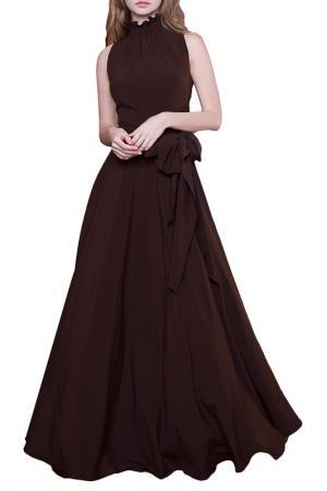 Платье MARICHUELL. Цвет: шоколадный