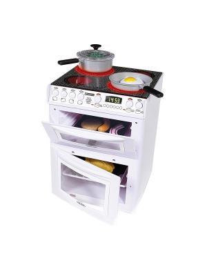 Кухонная плита Casdon (сковородки и имитационная еда в комплекте). Цвет: белый
