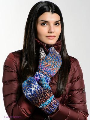 Варежки CMP. Цвет: синий, лазурный, светло-оранжевый, фиолетовый