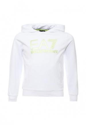 Худи EA7. Цвет: белый