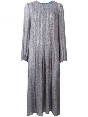 Платье Sonia Mih Jeans. Цвет: многоцветный