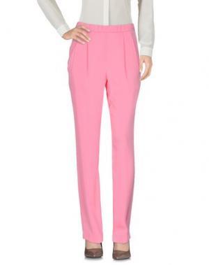 Повседневные брюки VIONNET. Цвет: светло-фиолетовый