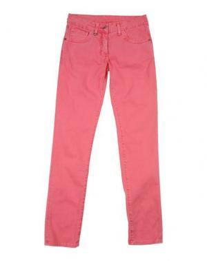 Джинсовые брюки DON WASH. Цвет: светло-фиолетовый
