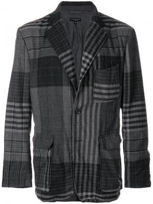 Пиджак Baker Engineered Garments. Цвет: серый