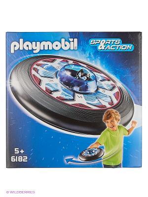 Игры на улице: Супер диск с пришельцем Playmobil. Цвет: черный
