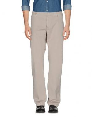 Повседневные брюки TRUE NYC.. Цвет: серый