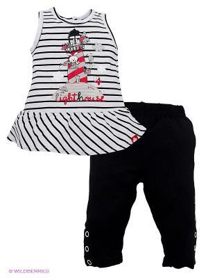 Комплект Bimbalina. Цвет: белый, черный, красный