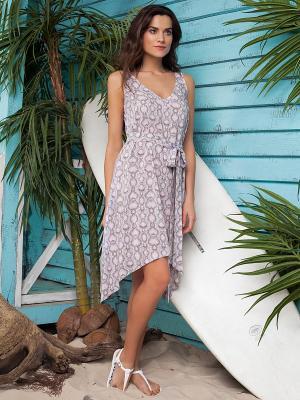 Платье Laete. Цвет: лиловый