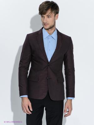 Пиджак ABSOLUTEX. Цвет: темно-бордовый