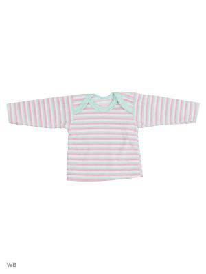 Джемпер Babycollection. Цвет: розовый, салатовый