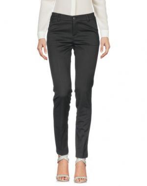 Повседневные брюки NINETTE. Цвет: стальной серый