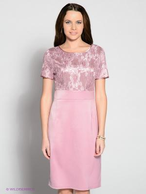 Платье Remix. Цвет: розовый
