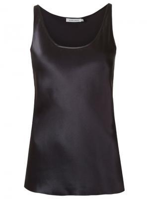 Sleeveless blouse Gloria Coelho. Цвет: чёрный