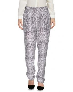 Повседневные брюки EQUIPMENT. Цвет: светло-серый