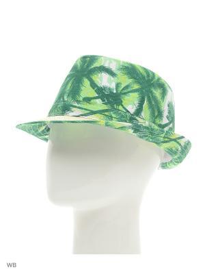 Шляпа Modis. Цвет: бежевый, зеленый