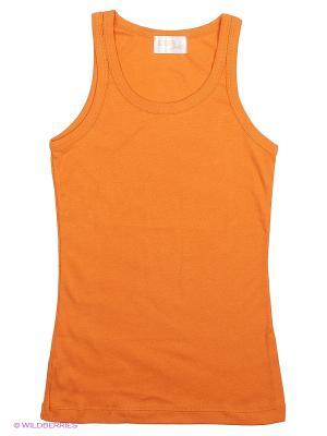 Майка Эдельвейс плюс. Цвет: оранжевый