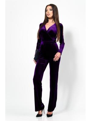 Комбинезон Zia. Цвет: фиолетовый
