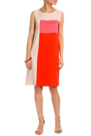 Платье P.A.R.O.S.H.. Цвет: розовый