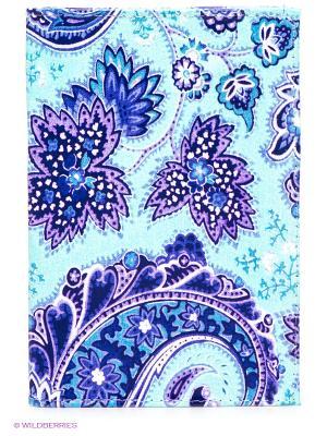 Обложка для паспорта Mitya Veselkov. Цвет: бирюзовый, фиолетовый