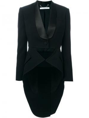 Структурированный пиджак в стиле смокинга Givenchy. Цвет: чёрный