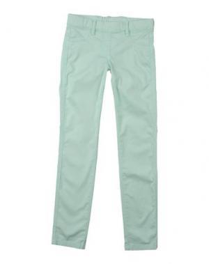 Повседневные брюки EDDIE PEN. Цвет: светло-зеленый