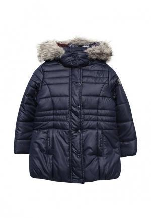 Куртка утепленная Esprit. Цвет: синий