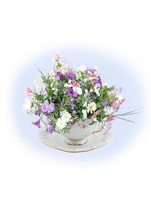 Набор для вышивания Дашино настроение Матренин Посад. Цвет: зеленый, фиолетовый, белый