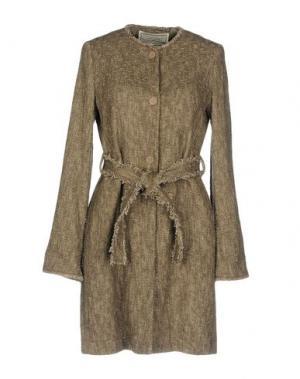 Легкое пальто KRISTINA TI. Цвет: голубиный серый