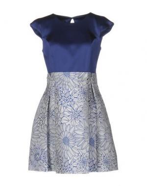 Короткое платье ANNARITA N.. Цвет: синий