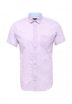 Рубашка Springfield. Цвет: фиолетовый