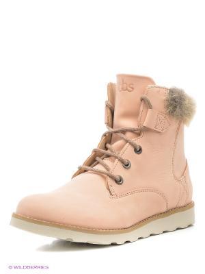 Ботинки TBS. Цвет: бледно-розовый