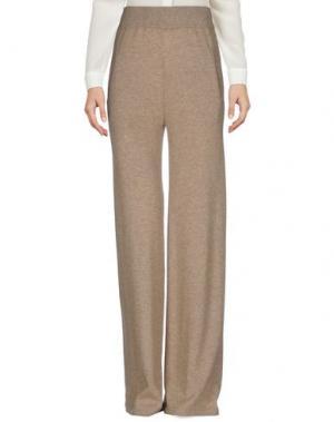 Повседневные брюки ORA. Цвет: бежевый