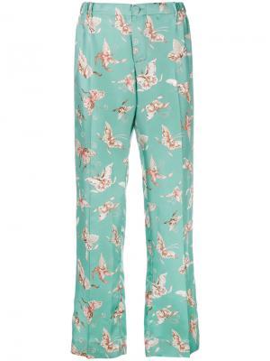 Пижамные брюки Zeus F.R.S For Restless Sleepers. Цвет: зелёный