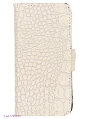 Чехол-книжка для iPhone 6 Dimanche. Цвет: бежевый, молочный, кремовый, светло-серый, светло-бежевый