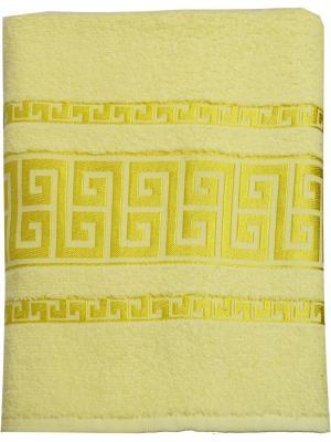 Полотенце махровое,  дизайн GREK Logo, 70х140 Dorothy's Нome. Цвет: кремовый