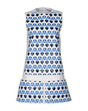 Короткое платье COURRÈGES. Цвет: белый