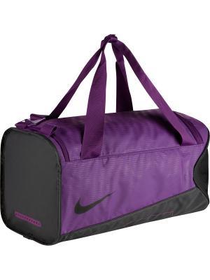 Сумка YA ALPH ADPT CRSSBDY DFFL Nike. Цвет: фиолетовый